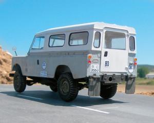 minimania land rover santana serie III