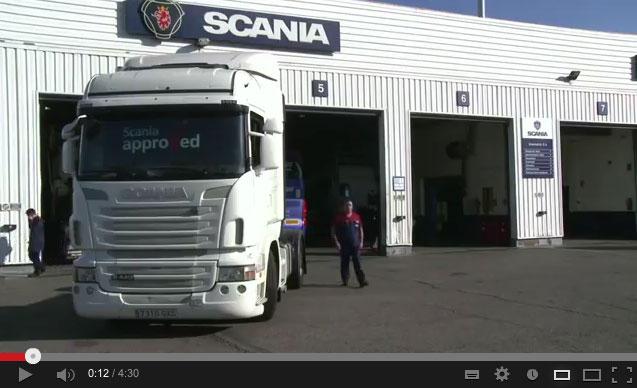 camión usado scania