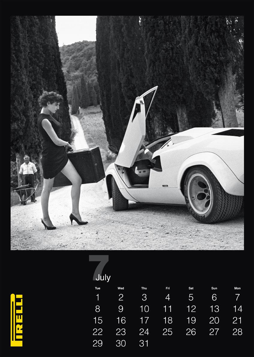 pirelli calendario