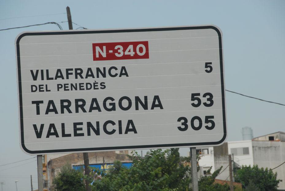 N-340 carretera