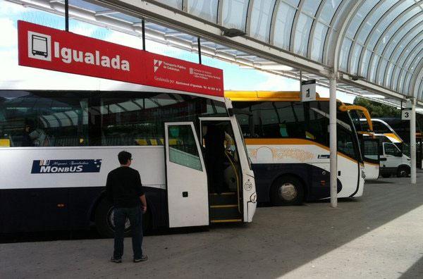 hispano igualada transporte pasajeros