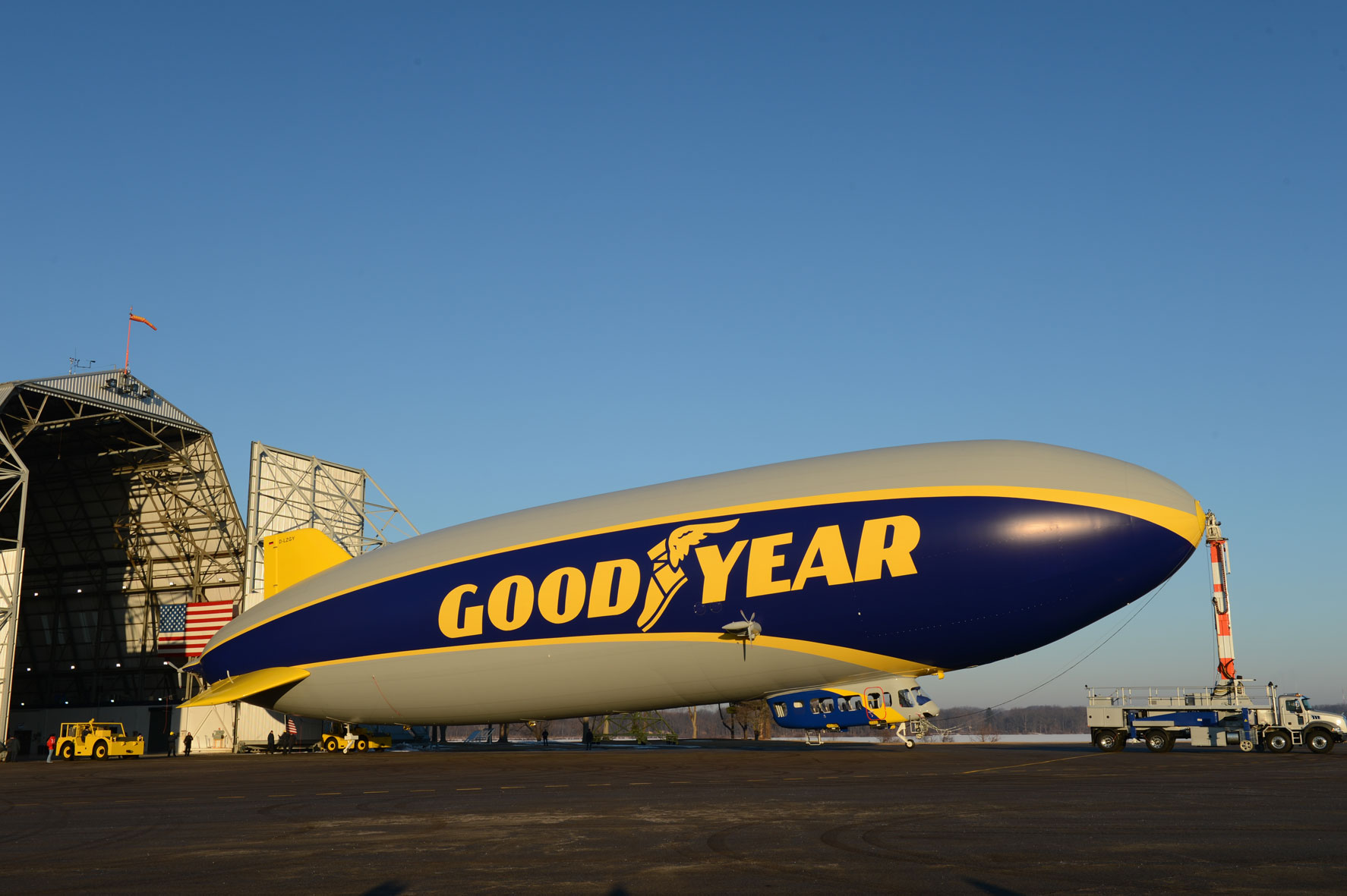 goodyear blimp mack