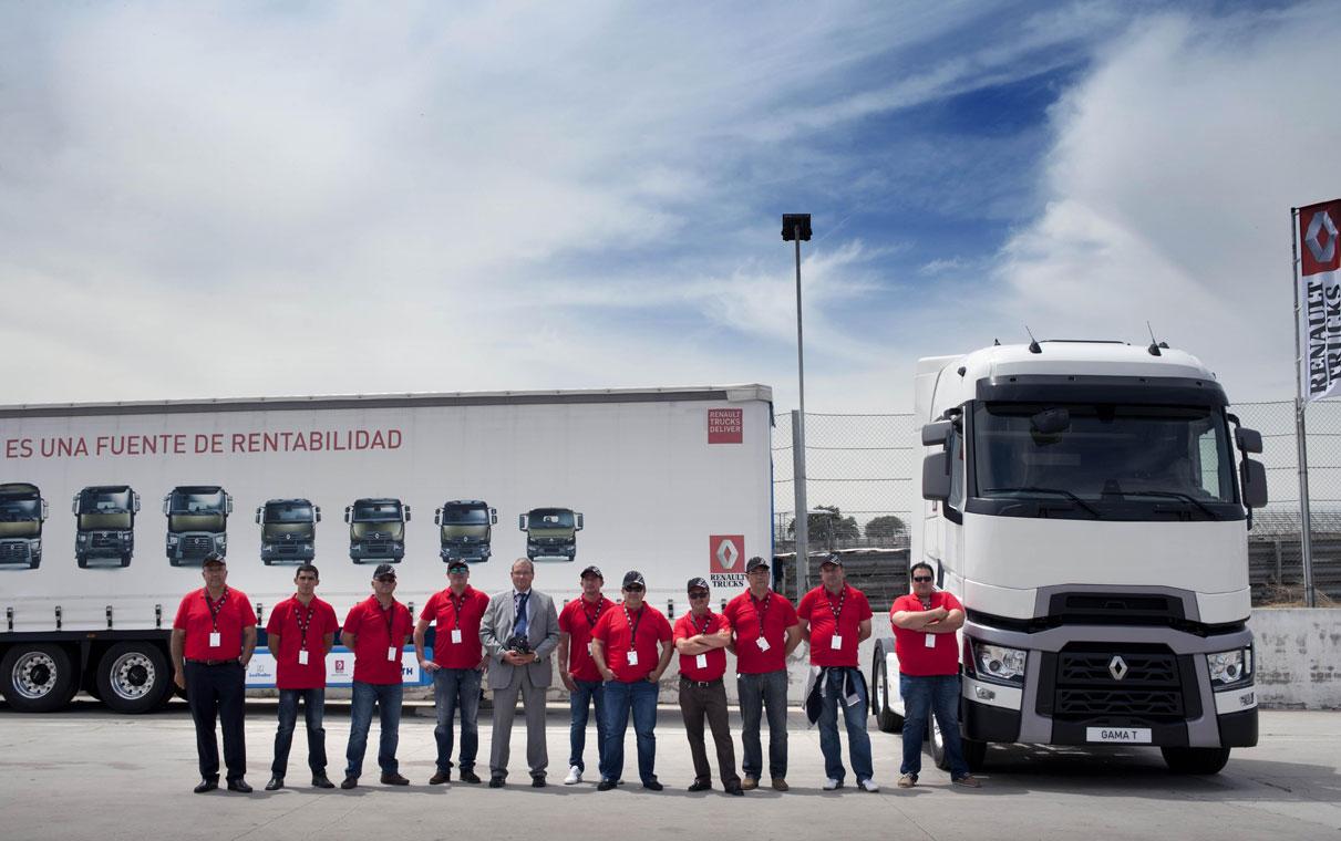 optifuel renault trucks