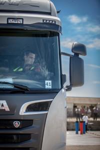 Scania, joven, conductor, campeonato, 2014