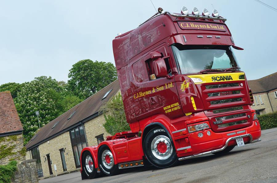 Scania R620 Haynes
