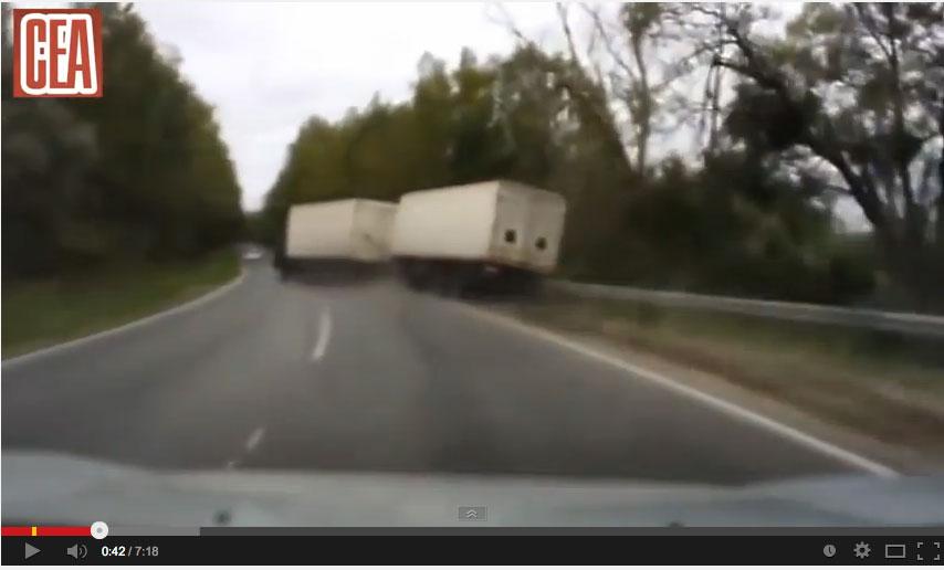 accidentes, camiones, carreteras