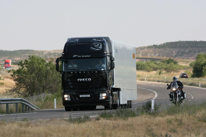 abertis camión AP-7