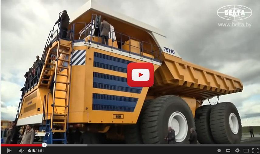 El camión más grande del mundo
