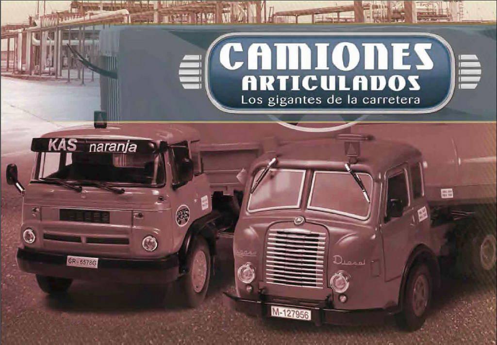 Colección Camiones Articulados Altaya