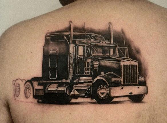 Los mejores tatuajes camioneros