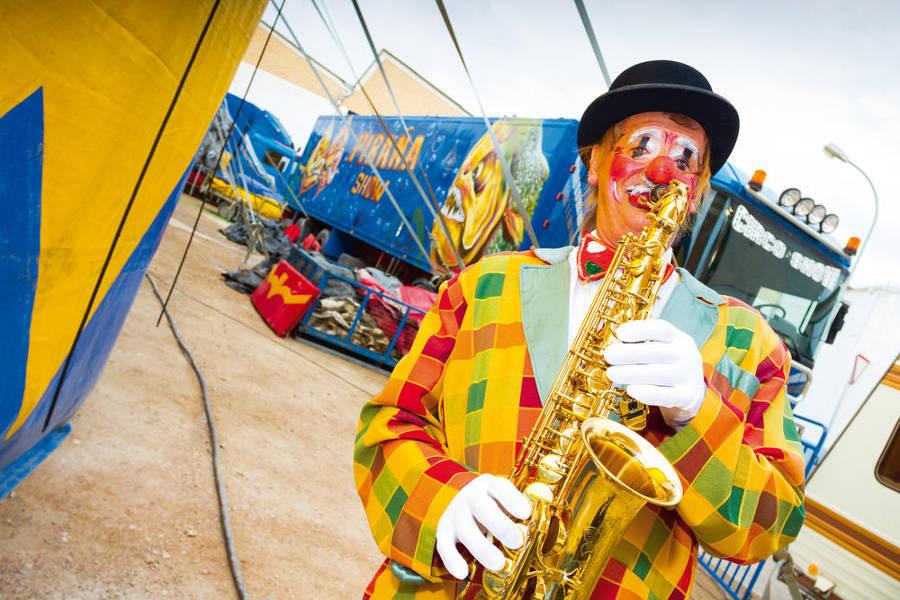Circo Piraña Show, una vida de pueblo en pueblo