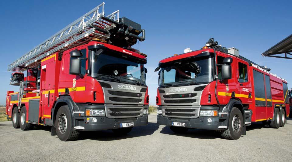 Vehículos Especiales Scania