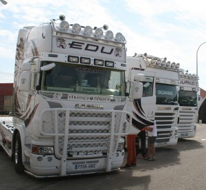 Écija reunión camionera