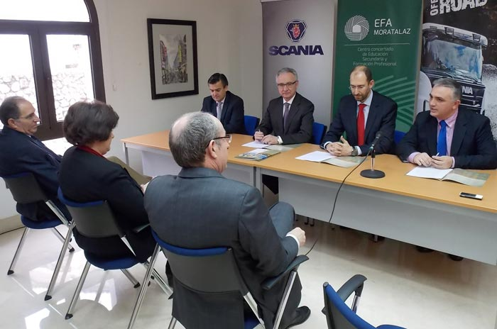 Formación Scania EFA Moratalaz