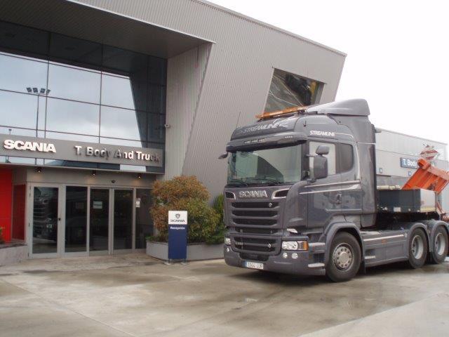 Scania Ttes. Blanco