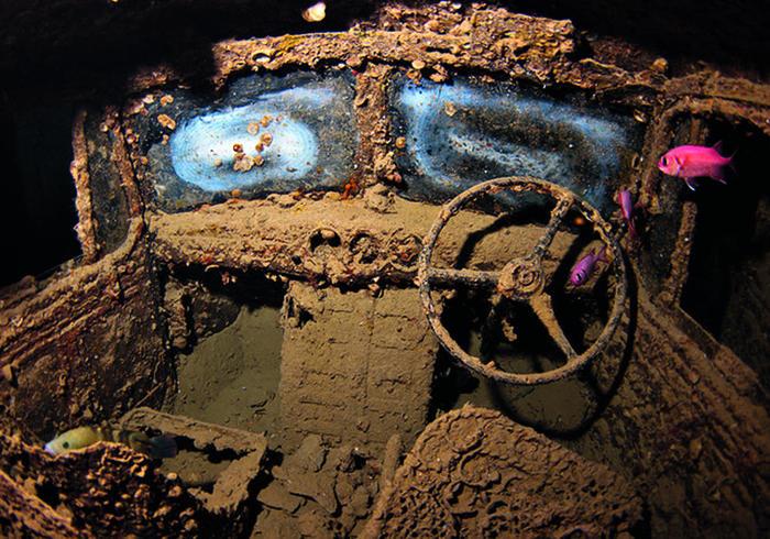Camiones en el fondo del mar: el SS Thistlegorm