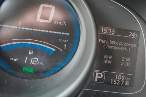 Pantalla Nissan e-NV200 Evalia