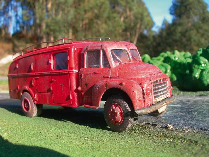 Citroën U23 Bomberos, el 080 al rescate
