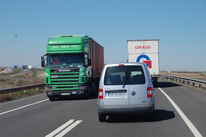 Controles DGT camión furgo