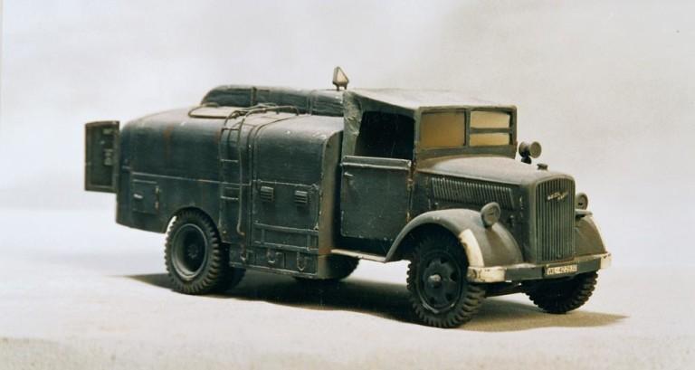 Opel Blitz, un aljibe de época