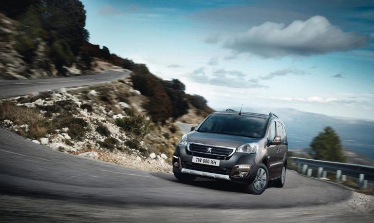 Peugeot Partner Grip Control