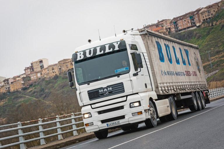La DGT en la Rioja insiste en el desvío obligatorio para camiones a la AP-68