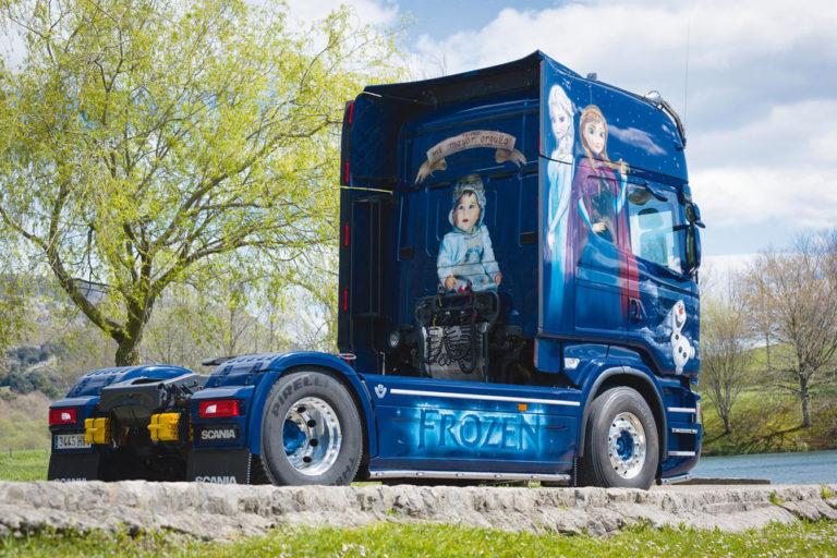 El Scania de Durán y su reino «Frozen»