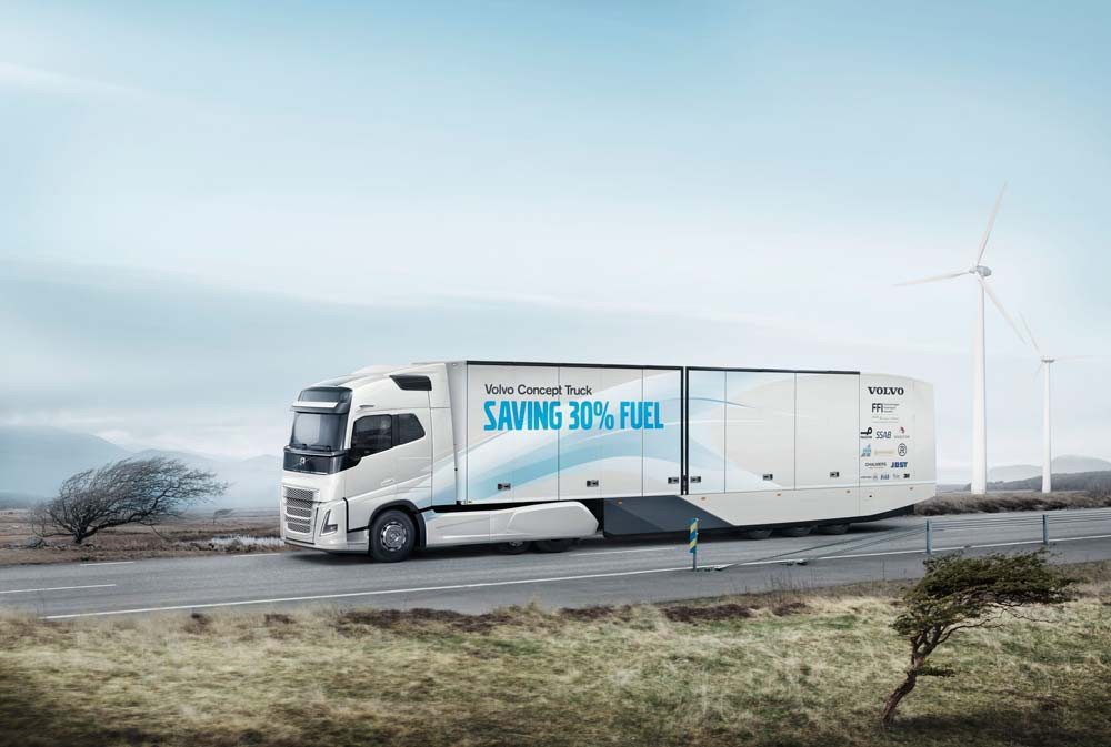 Continental Volvo Concept Truck