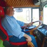 Camiones clásicos en La Alpujarra