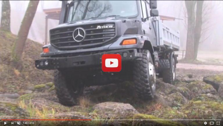 Mercedes-Benz Zetros: El camión sin límites