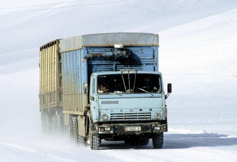 Transporte Kirguistán