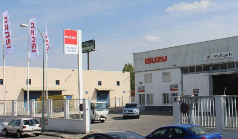 Concesionario Isuzu, Duarte Trucks