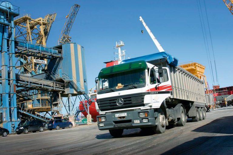 El transporte en el Puerto de Valencia