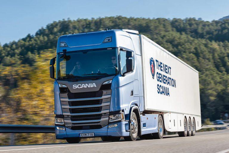 Prueba Scania S500