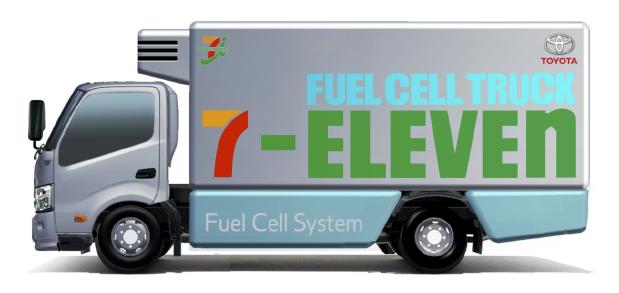 Camiones Toyota 7-Eleven