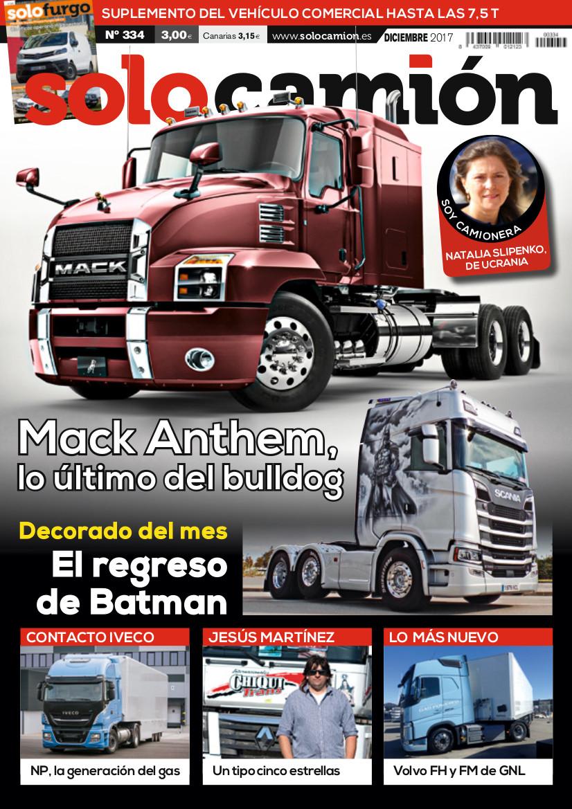 Solo Camión 334 diciembre 2017
