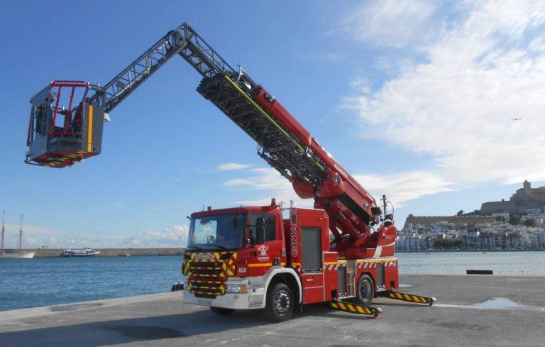 Scania bomberos Ibiza