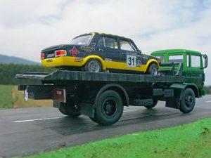maqueta Renault grúa