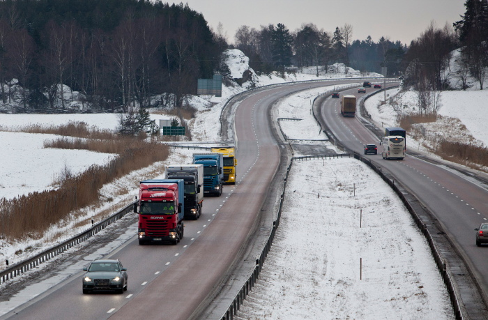 Aviso a transportistas: información del estado de las carreteras