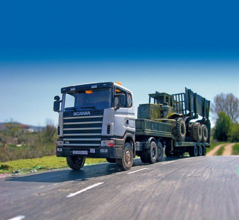 Scania Serie 4, una maqueta sin catalogar