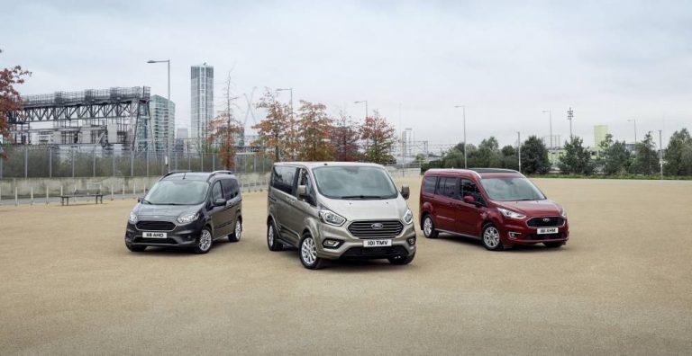 Gama Ford Tourneo 2018