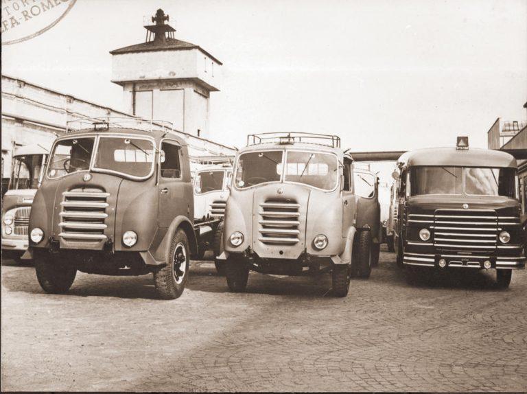 Los camiones Alfa Romeo