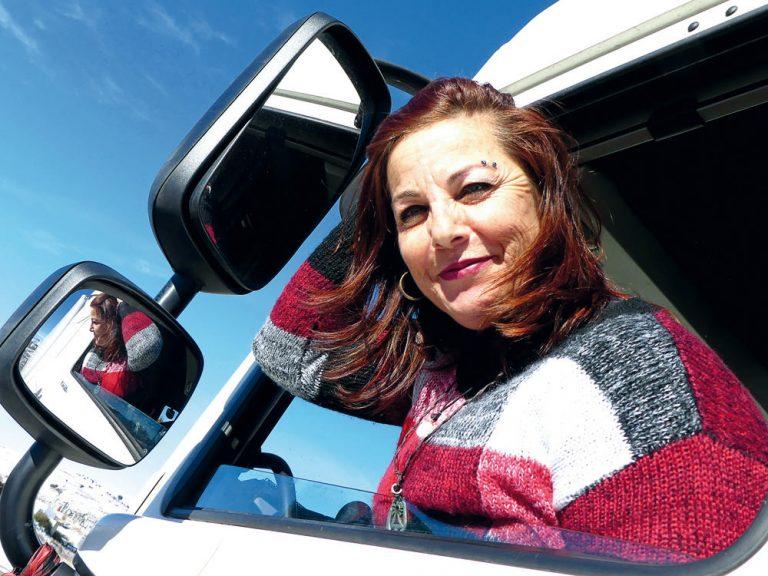 Soy camionera: María Asunción Pinilla, domadora de retos