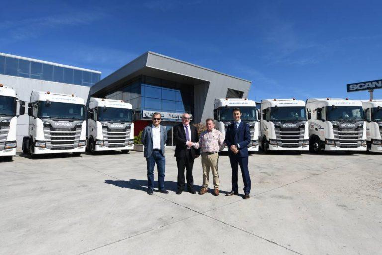 Scania Transportes Juan José Gil