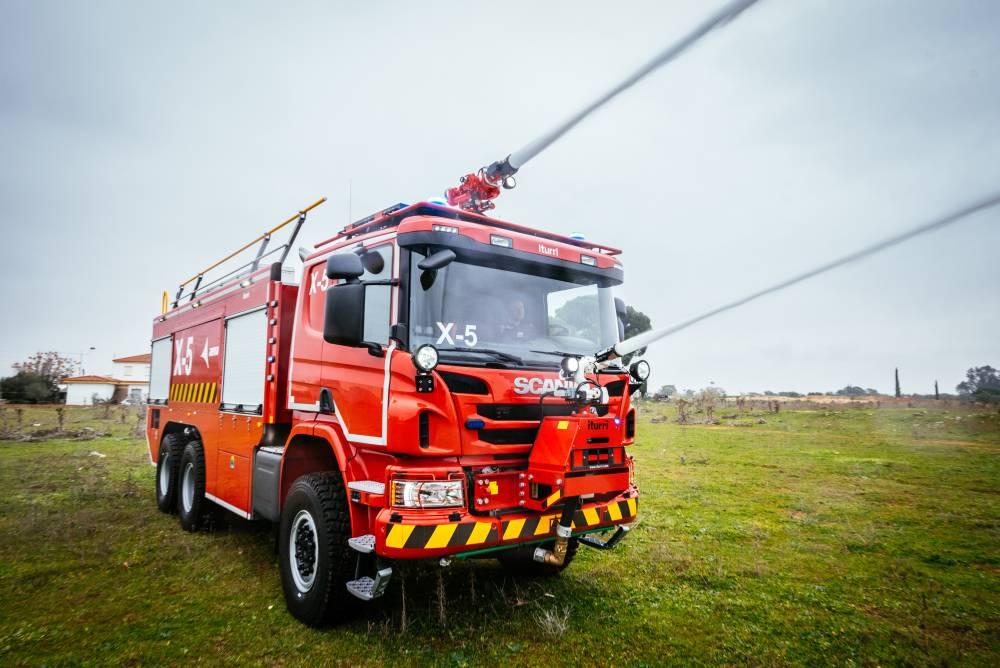 Autoextintor Scania AENA