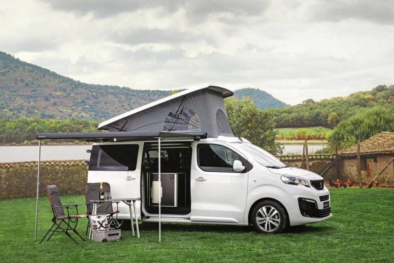 Peugeot Traveller by Tinkervan, con espíritu camper