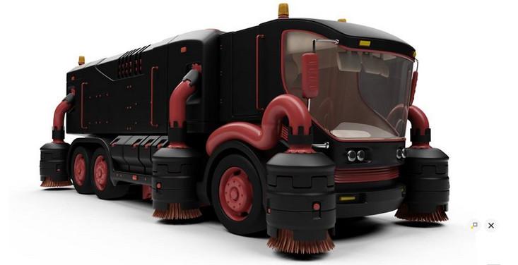 TOP 15 de los camiones más futuristas