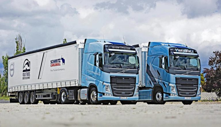 Volvo FH gas vs gasoleo