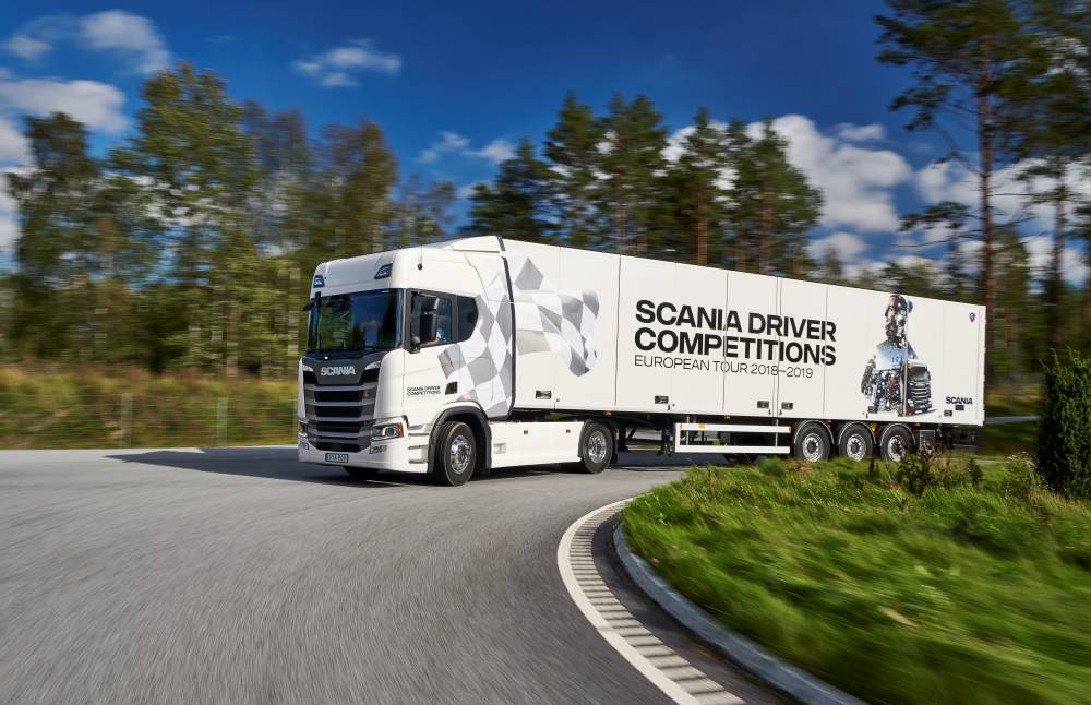 Scania Driver Competition 2018-2019