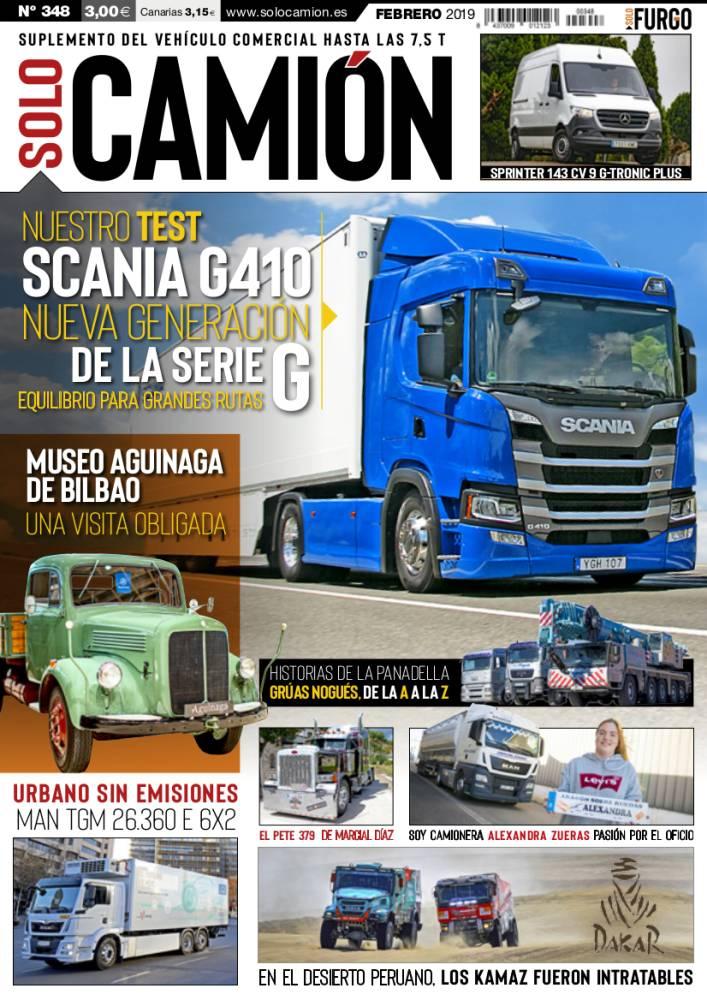 Solo Camión 348 febrero 2019